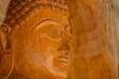 Teak Buddha in thailand