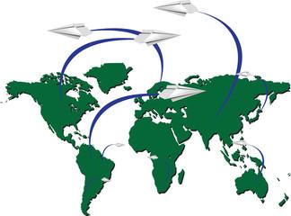 traffico aereo internazionale