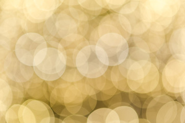 Abstract bokeh festive light background