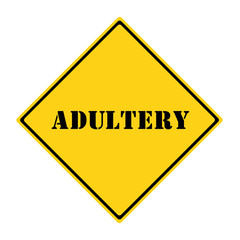 Adultery Sign