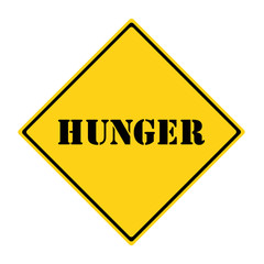 Hunger Sign