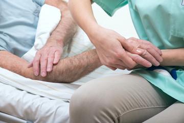 Pflege der Hand Senioren