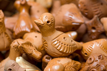 Clay toys. Udmurt style