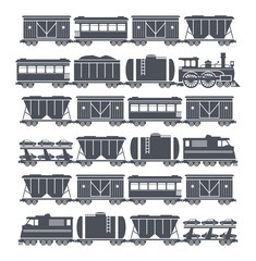 Train, vector illustration, vector