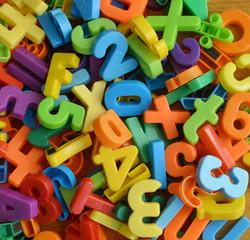 Zahlen und Buchstaben Durcheinander