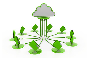 Cloud computing.(folder network)