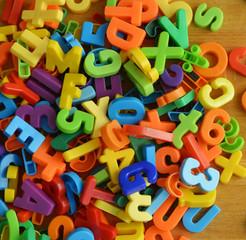 Kopfsalat Zeichen und Buchstaben