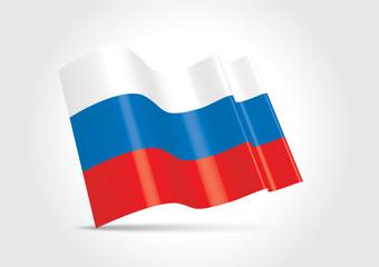 DRAPEAU RUSSIE 3D
