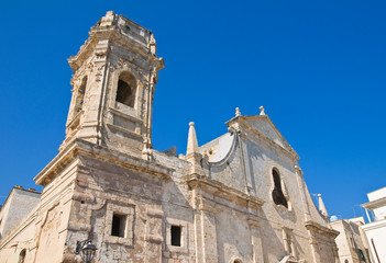 Church of St. Salvatore. Monopoli. Puglia. Italy.