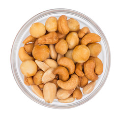Nuts in Bowl Top