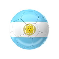 argentina soccer ball