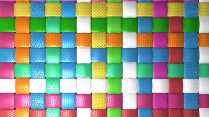 Basket grid pattern for background