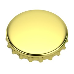 realistic 3d render of bottle lid