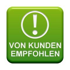 Grüner Button: Von Kunden empfohlen