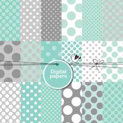 Seamless pattern background - decorative digital paper