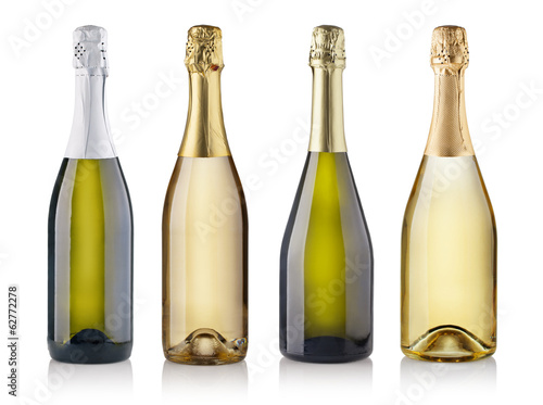 champagne bottles - 62772278