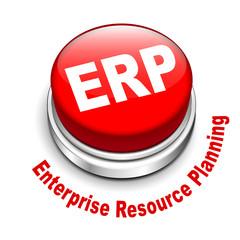 3d illustration of ERP Enterprise Resource Planning