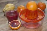 Fotoroleta succo d'arancia