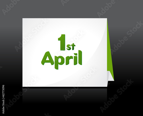 April Fool's Day. vector illustration