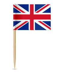 united kingdom flag toothpick