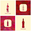 Illustrations for wine, wineries, restaurants and wine shops
