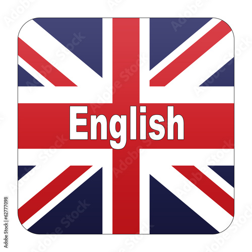 Etiqueta tipo app version idioma ingles