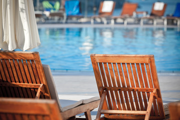 Hotel Poolside Chairs