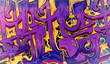 Fototapete Sauber - Bruch - Graffiti
