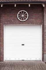 Altmodische Garage