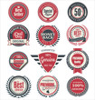 Premium quality badges and labels