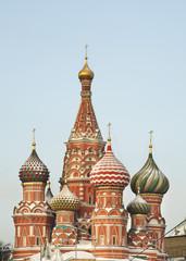 Покровский собор - храм Василия Блаженного. Москва. Россия