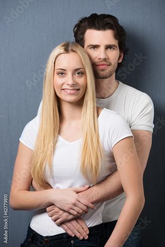 lässiges junges paar