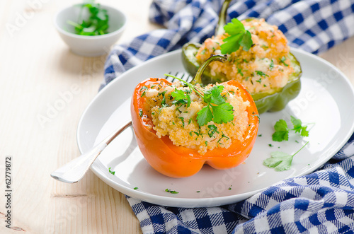 stuffed peppers with couscous