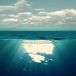 Summer sea, abstract environmental backgrounds