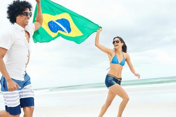 Latino brasil couple