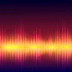 Abstract equalizer background.