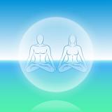 Dual Soul Meditation Sphere poster