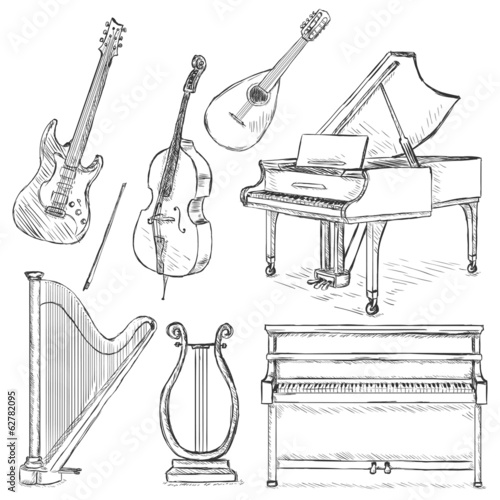 Vector Set of Musical Instruments