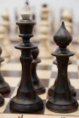 chessboard with the chess