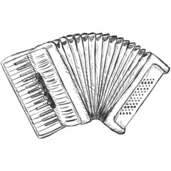Vector Sketch Accordion
