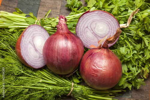 Onions, Parsley and Dill