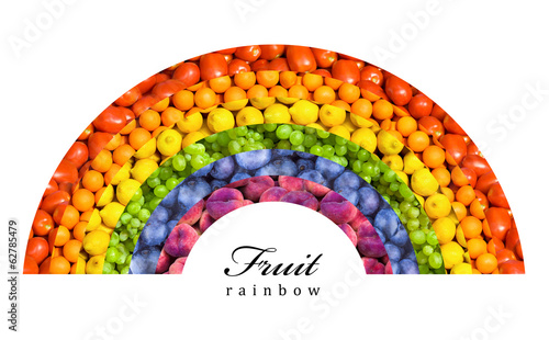 fruit and vegetable rainbow - healthy eating concept