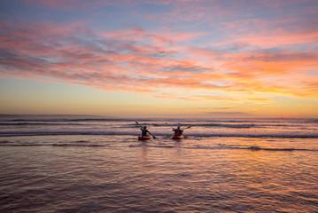 Kayaking fishermen 2