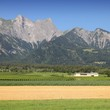 Switzerland agriculture and Alps