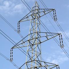 Electricity pylon in Switzerland