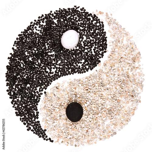 symbole yin yang - 62786255