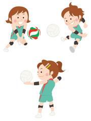 バレーボール 女性