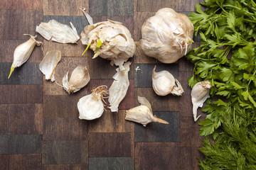 Garlic, Parsley and Dill