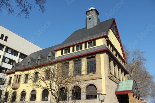 canvas print picture Altes Rathaus Standesamt Frechen