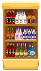 Shop alcoholic beverages